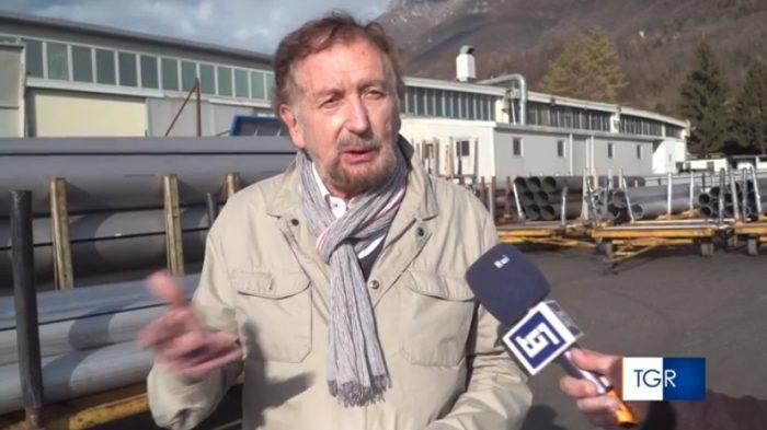 imprenditore Vinicio Bulla