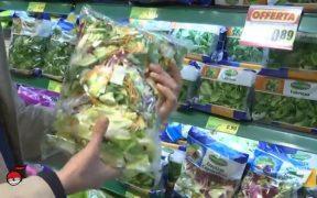 insalate in busta