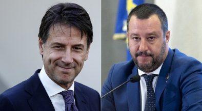 rapporti tesi Salvini Conte