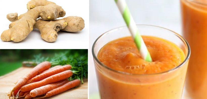 carote e zenzero