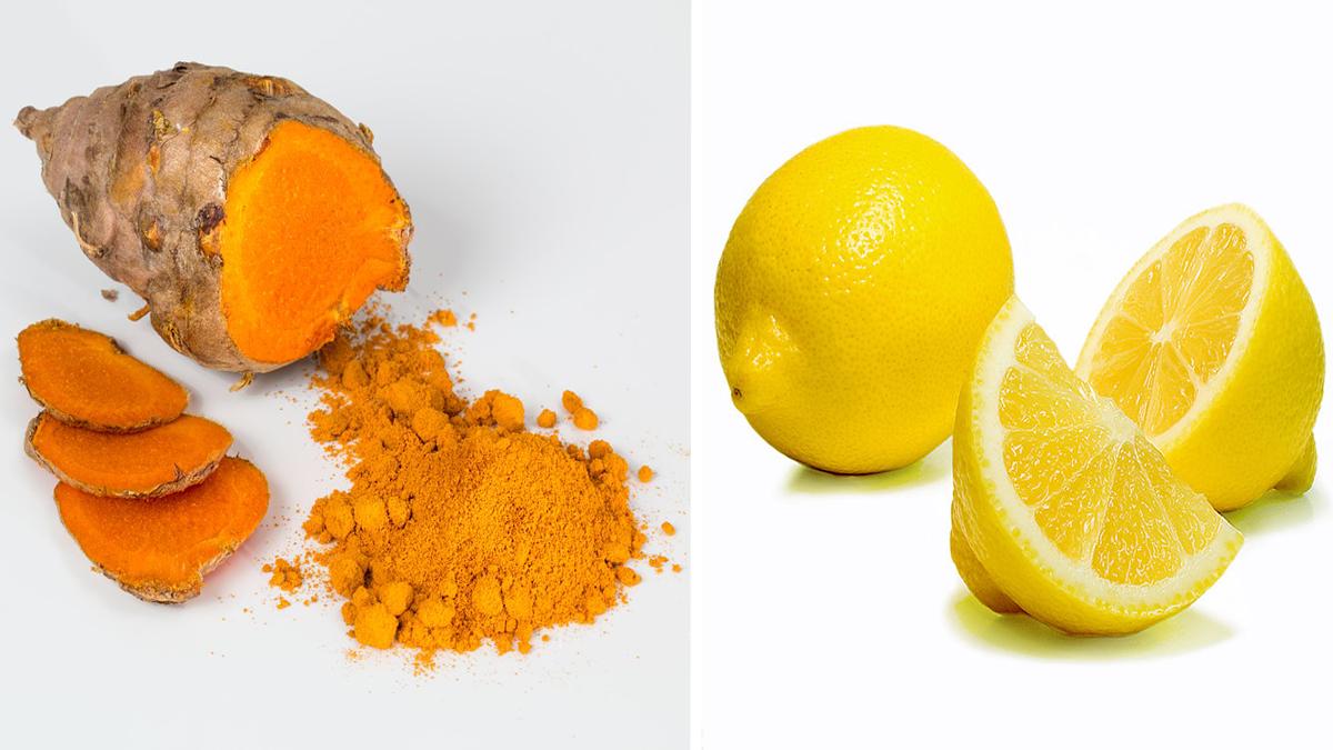 limone e curcuma