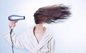 capelli appena lavati