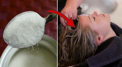 zucchero allo shampoo