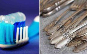 pulire oggetti in argento