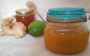 zenzero limone e miele