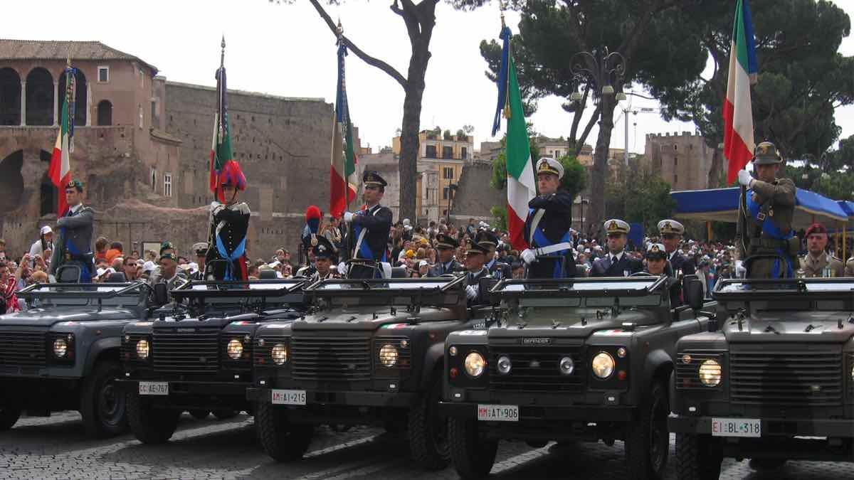 festa delle forze armate