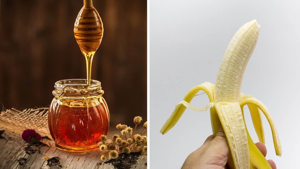 miele e banana