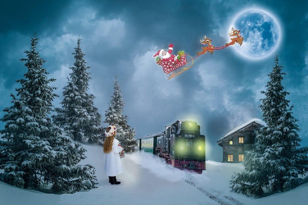 Immagine Di Natale Foto.Preparate I Bambini Apre Il Villaggio Di Natale Piu Grande D Italia Oltre Tv