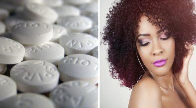 aspirina sui capelli