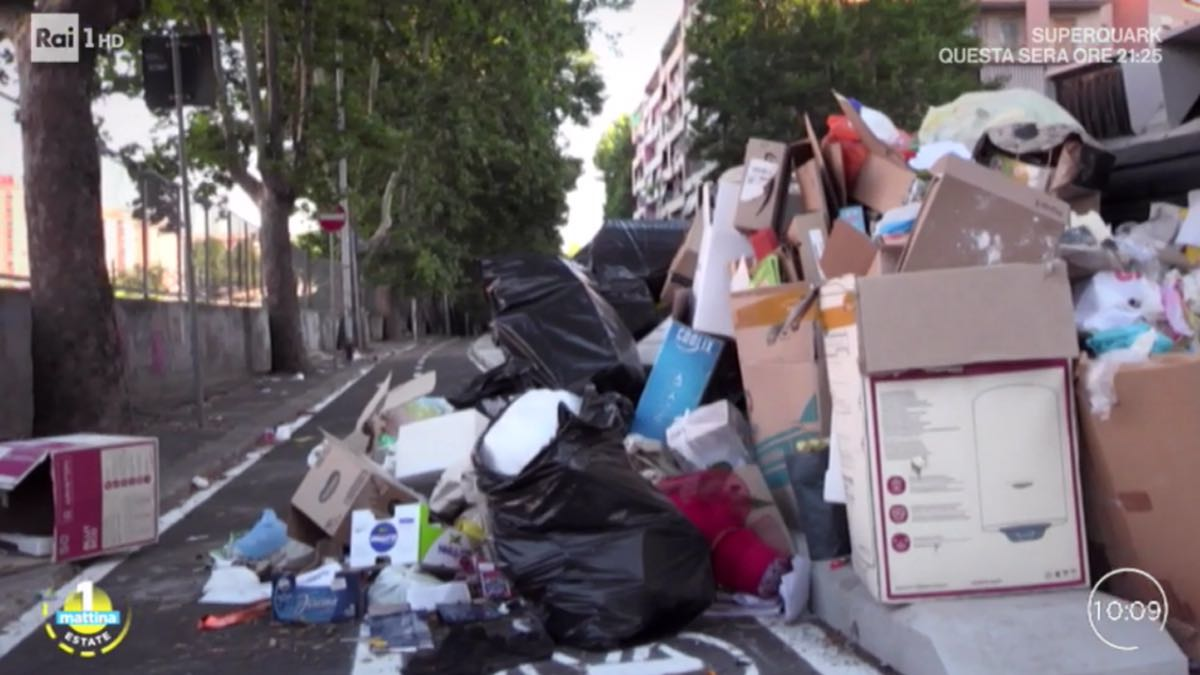 rifiuti di roma