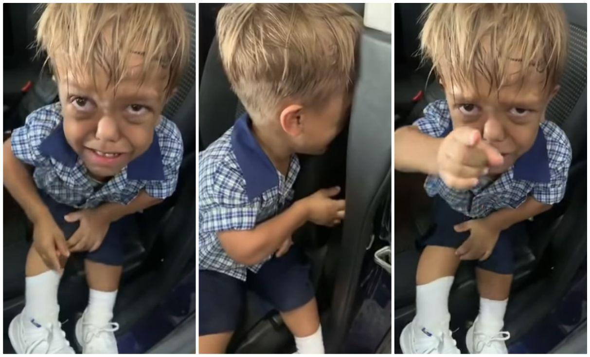 Risultato immagini per bambino nano preso in giro
