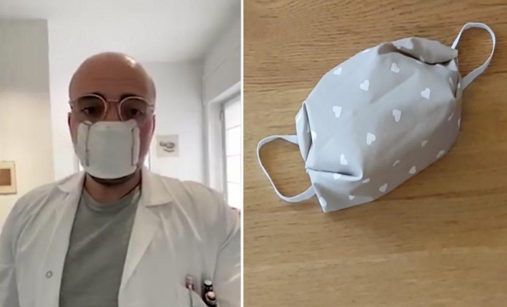 mascherina antivirus garza
