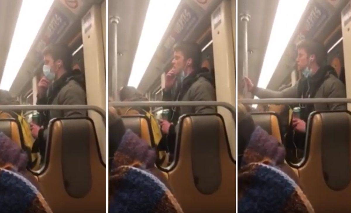 passeggero della metro