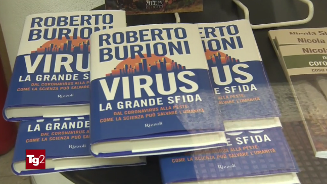 virus burioni tg2