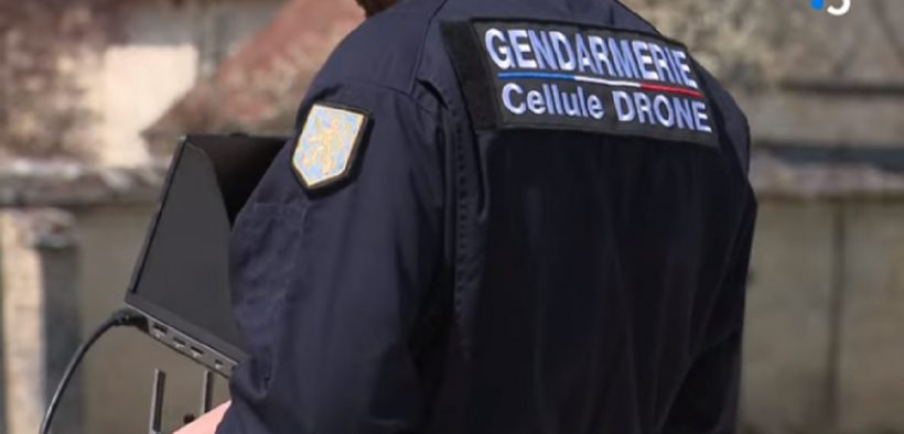 Droni violano la privacy polizia francese