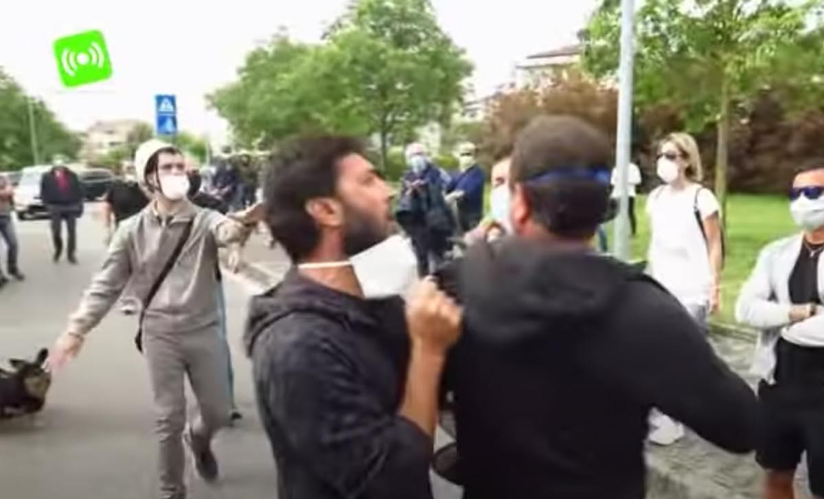 protesta a viserba Antenne e 5G