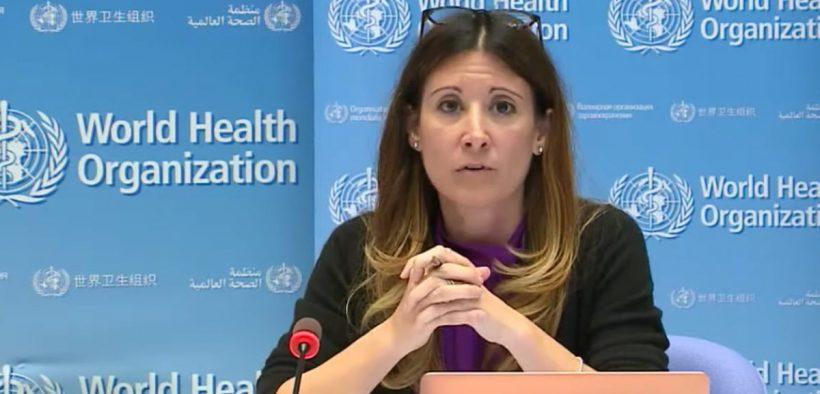 asintomatici conferenza microfono WHO world health organization