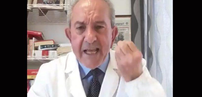 μάσκες επιστολών προέδρου roberto petrella coronavirus