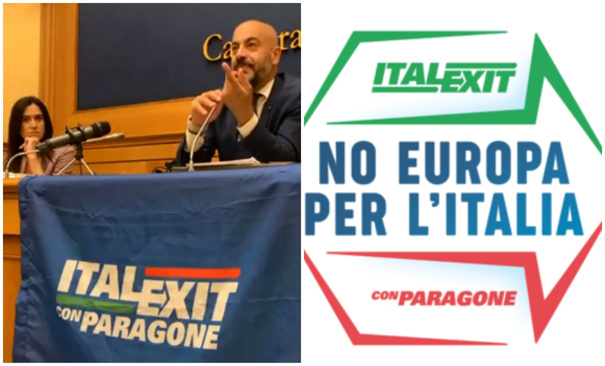 italexit no europa per l'italia gianluigi paragone Monica Lozzi