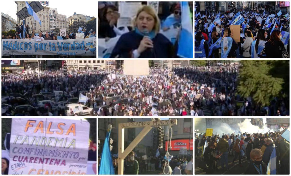 chinda brandolino manifestazione argentina