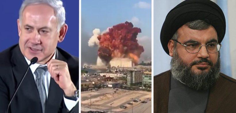 Distruggere il Libano esplosione Netanyahu hezbollah