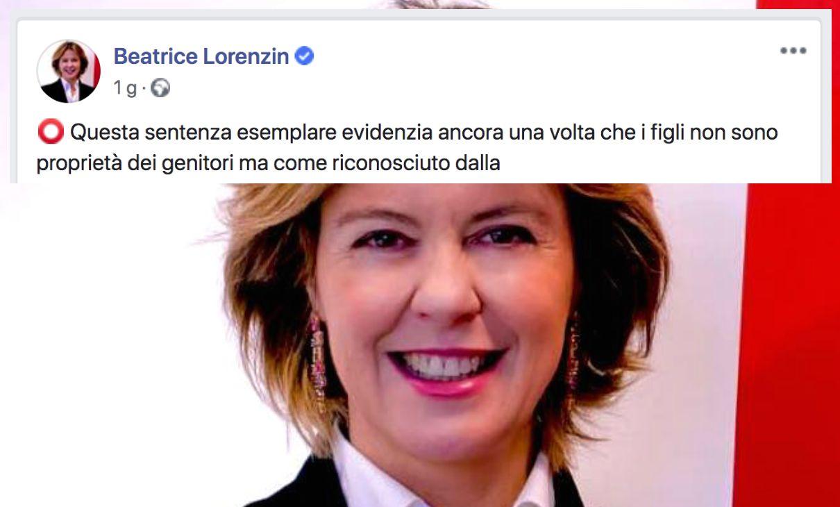 lorenzin patria potestà