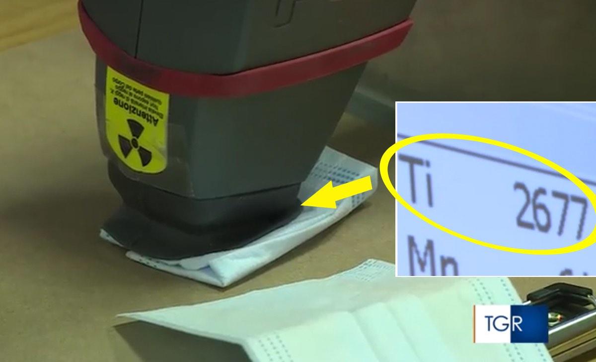 biossido di titanio mascherine adiconsum