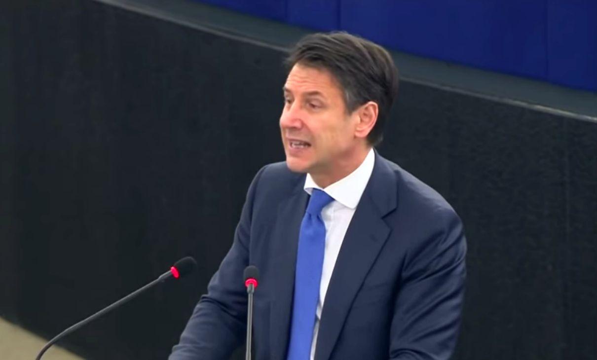 Strasburgo governo Conte