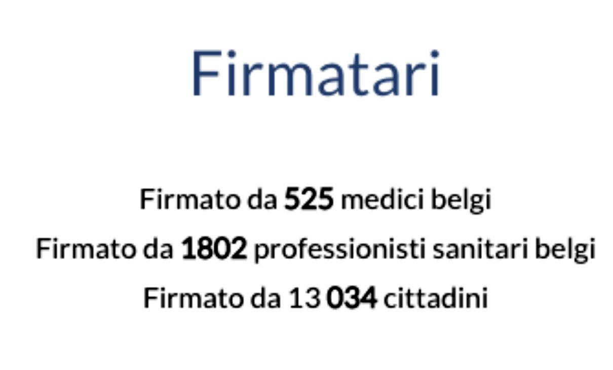 medici belgi firme