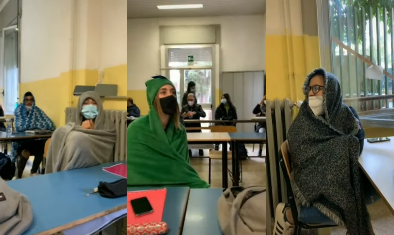 Finestre aperte in classe