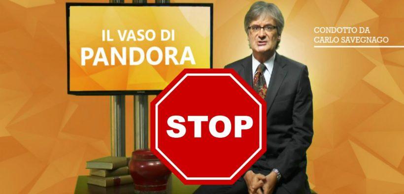 Il vaso di Pandora youtube Carlo Savegnago