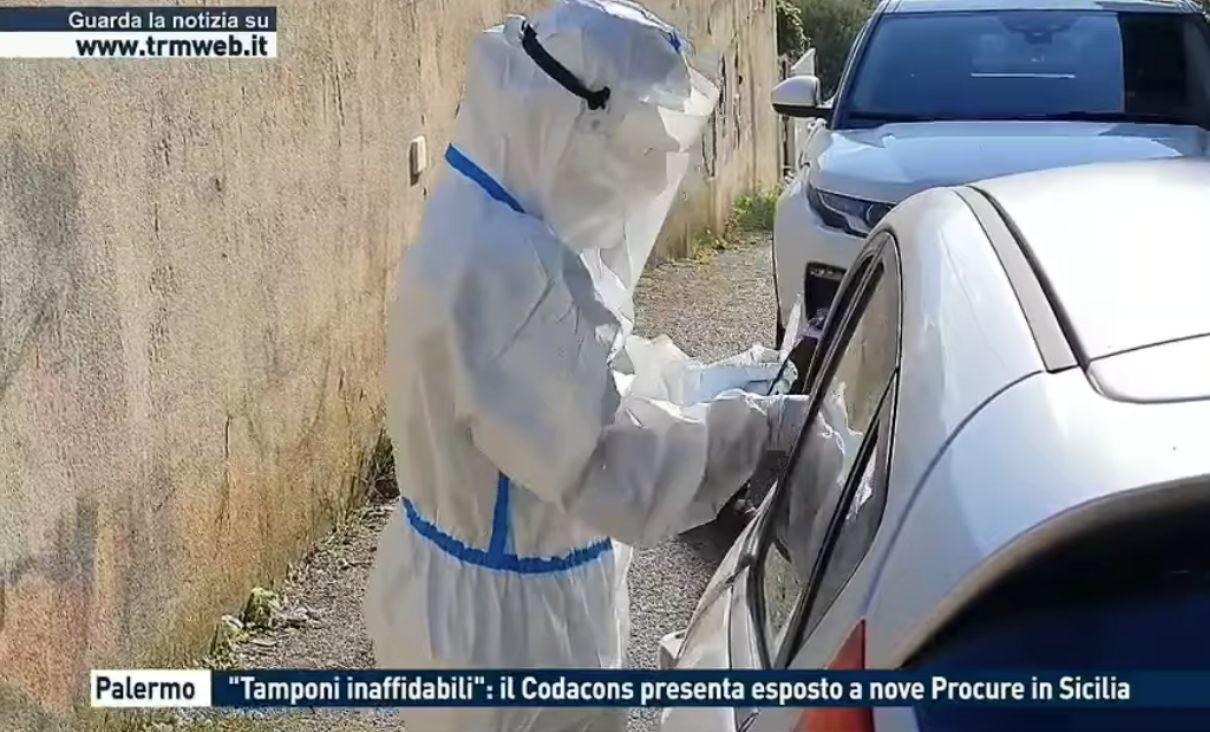 codacons tamponi sicilia
